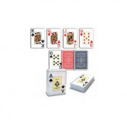 Cartas Poker Inglés Estuche Plástico.