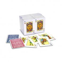 Cartas Poker Español Encelofanada.