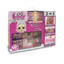 L.O.L Surprise Pop Up Store Playset + Muñeca.