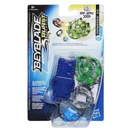 Beyblade Burst Peonza con Lanzador Diomedes D2.