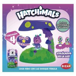 Hatchimals Casa Nido Con Luz Bosque Fábula.
