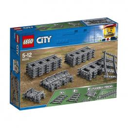 Lego City - Vías y Curvas.