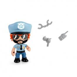 Pin y Pon Action Figura - Policía.
