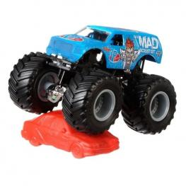 Hot Wheels Monster Jam  Escala 1:64 - The Mad Scientist.