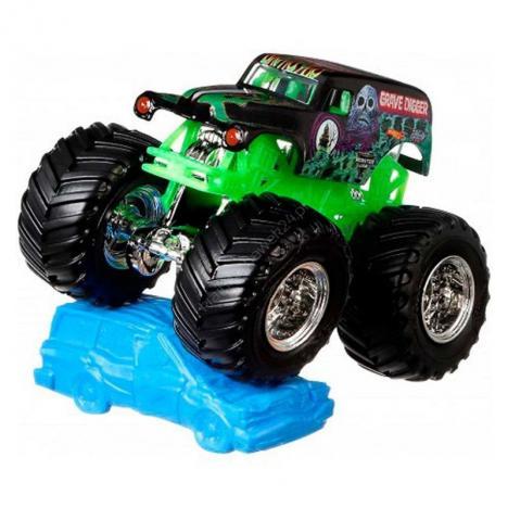 Hot Wheels Monster Jam  Escala 1:64 - Grave Digger.
