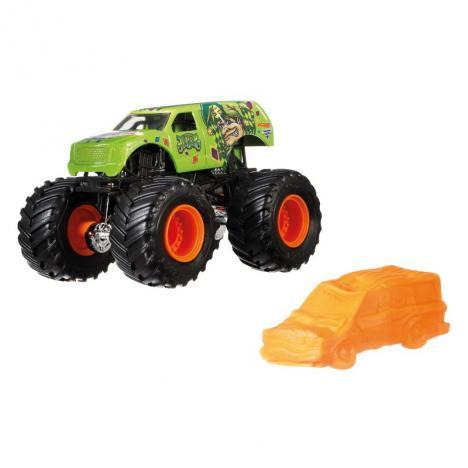 Hot Wheels Monster Jam  Escala 1:64 - Jester.