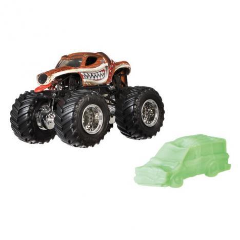 Hot Wheels Monster Jam  Escala 1:64 - Monster Mutt.