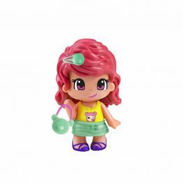 Pin y Pon - Emoji Pelo Rosa.