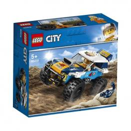 Lego City - Grandes Vehículos: Coche De Rally Del Desierto.