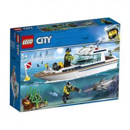 Lego City - Grandes Vehículos: Yate De Buceo.