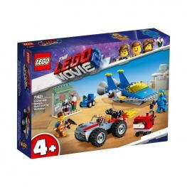 """Lego Movie - Taller """"Construye y Arregla"""" De Emmet y Benny."""