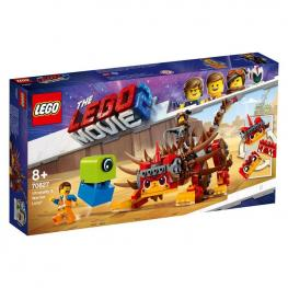 Lego Movie - Ultrakatty y Lucy Guerrera.