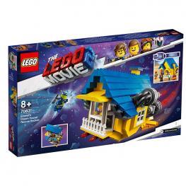 Lego Movie - Casa De Los Sueños/Cohete Rescate De Emmet.