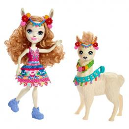 Enchantimals Luella Llama y Fleecy.