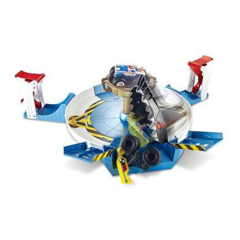 Monster El Truck Lucha Wheels Tiburón Contra Hot O8nmNwv0