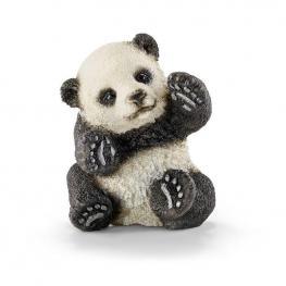 Cría De Oso Panda Jugando.