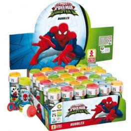 Bote Pompas De Jabon Spiderman 60ml