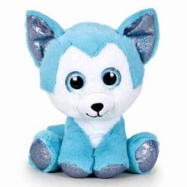 Peluche Fantasy - Husky Azul 22cm