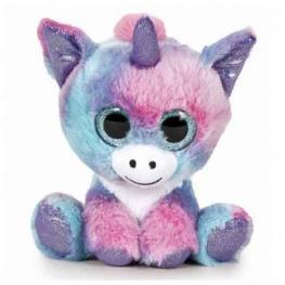Peluche Fantasy - Unicornio Multicolor 22cm