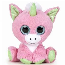 Peluche Fantasy - Unicornio Rosa 22cm