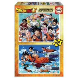 Puzzle Dragon Ball 2x100 piezas
