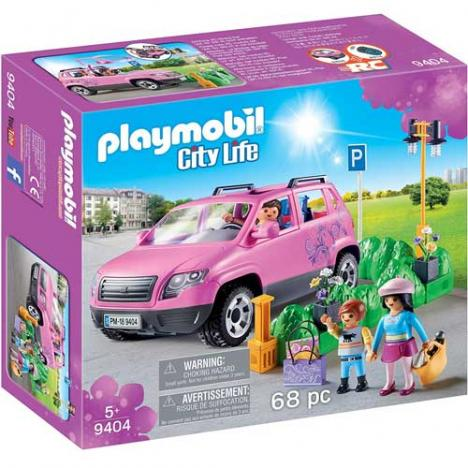 Playmobil - City Life: Coche Familiar Con Parking