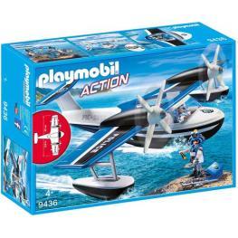 Playmobil - City Action: Hidroavion de Policia