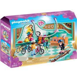 Playmobil - City Life: Tienda de Bicicletas y Skate