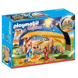 Playmobil - Christmas: Belén Con Luz