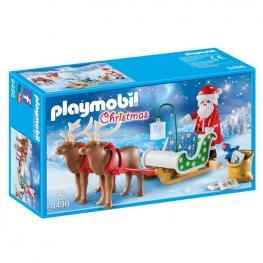 Playmobil - Christmas: Trineo Papa Noel con Renos
