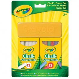 Set Tizas y Borrador Crayola