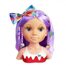 Nancy Busto Un Día de Secretos de Belleza Pelo Violeta