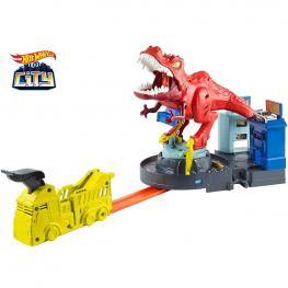 Hot Wheels T-Rex Devorador Destructor