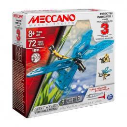 Meccano Multimodelos 3 Modelos Insectos