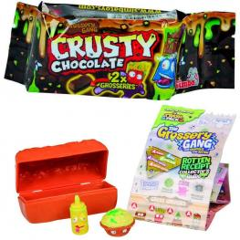 The Grossery Gang Crusty Chocolate Pack 2 figuras - modelo surtido