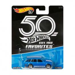 Hot Wheels - Vehículo Premium 50 Aniversario Favoritos.