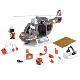 Pin y Pon Action - Helicóptero de Rescate