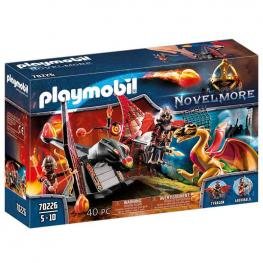 Playmobil - Novelmore: Entrenamiento del Dragón Bandidos Burnham