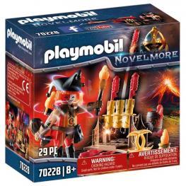 Playmobil - Novelmore: Maestro de Fuego Bandidos Burnham
