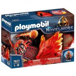 Playmobil - Novelmore: Espíritu de Fuego Bandidos Burnham