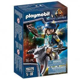 Playmobil - Novelmore: Ballestero con Lobo Novelmore