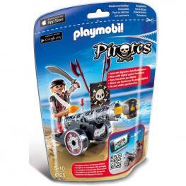 Playmobil - Pirates: Cañón Interactivo con Corsario Negro