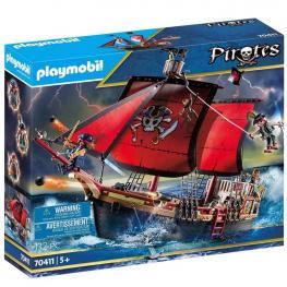 Playmobil - Pirates: Barco Pirata Calavera