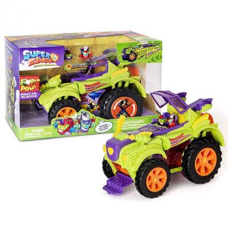 Superzings Monster Roller Camión Villano