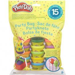 Play-Doh - Bolsa de 15 Mini Botes