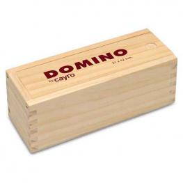 Domino Metacrilato Caja Madera