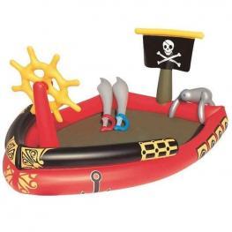 Cetro de Juegos Hinchable Barco Pirata