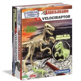 Arqueojugando Velociraptor Fluor