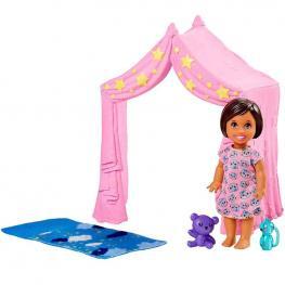 Barbie Skipper Babysitters Bebés y Accesorios - Canguro Hora de Dormir