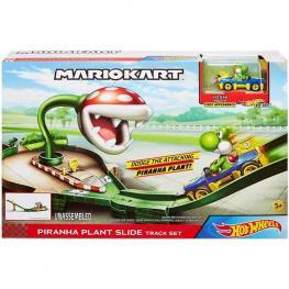 Hot Wheels Pista Mario Kart Piraña